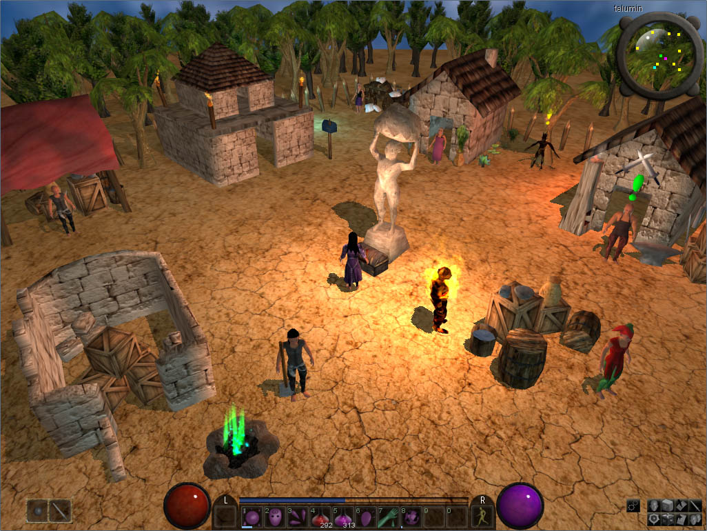 Open Source 3d Mmorpg Engine